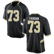Game Youth Zach Vaughan Wake Forest Demon Deacons Black Football College Jersey